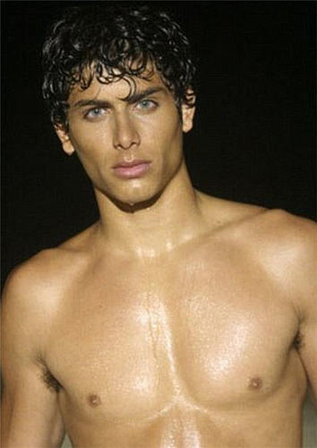 Ambrose ( jesus Luz and yes he is a seroius actor as well as a model not just madonnas boyfriend
