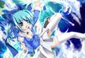 Aqua Anime Girl - anime fan art