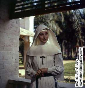 Audrey in The Nun's Story