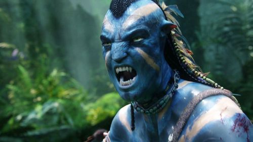 Avatar karatasi la kupamba ukuta titled Avatar