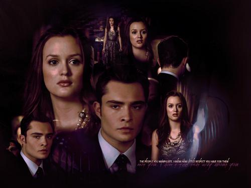 Blair & Chuck wallpaper entitled BC