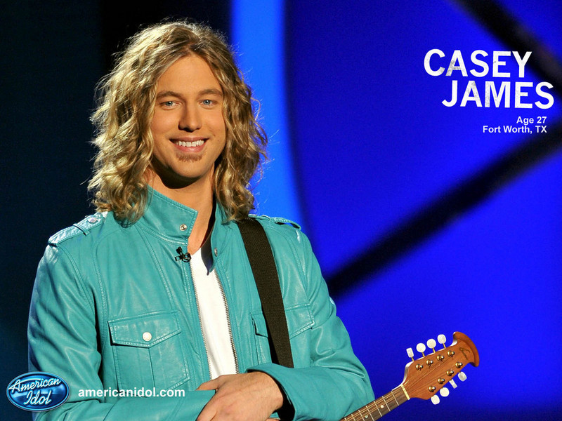 american idol casey james. Casey American Idol Top 4