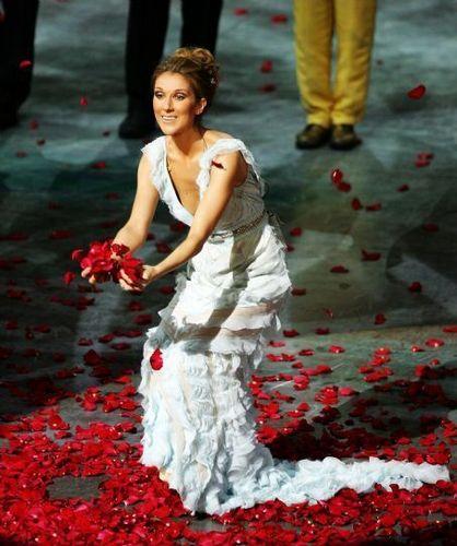 Celine Dion achtergrond titled Celine Dion