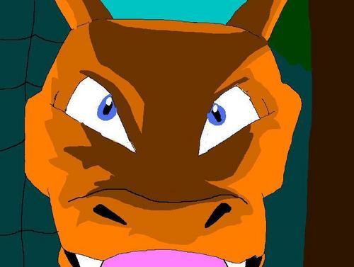 Charizard Evil Face