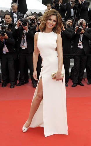 """Cheryl Cole at the Cannes premiere of """"Outside the Law'"""" (May 21)"""