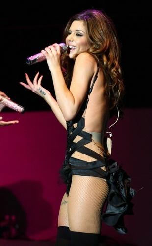 Cheryl on stage