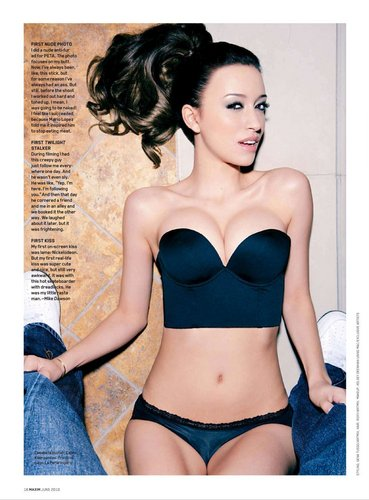 Christian Serratos wallpaper entitled Christain Serratos in Maxim Magazine
