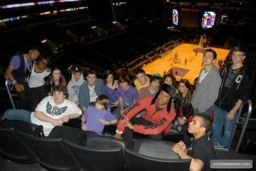 Christian Beadles & Marafiki at Justin Bieber's 16th Bday