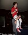 Christian Beadles & Friends at Justin Bieber's 16th Bday