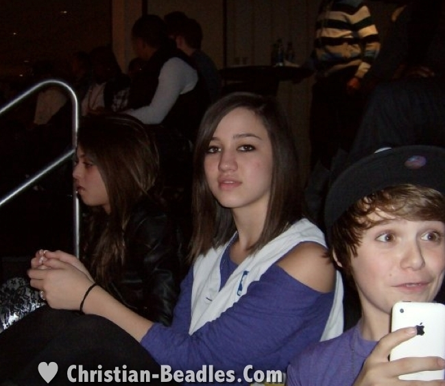 Christian Beadles & Friends at Justin Bieber's 16th Bday - christian-beadles photo