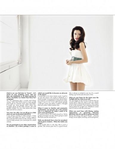 Christian Serratos In MF Magazine