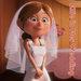 Ellie in her wedding