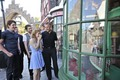 Emma Watson, Matt Lewis, Phelps twins & Robbie Coltrane visit Harry Potter theme park