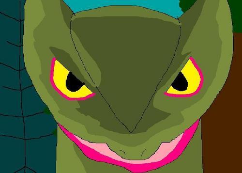 Evil Sceptile Face