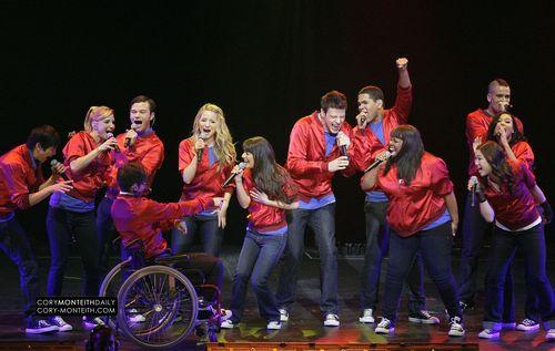 Glee live at Phoenix