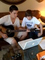 Greyson and His Brother Tanner
