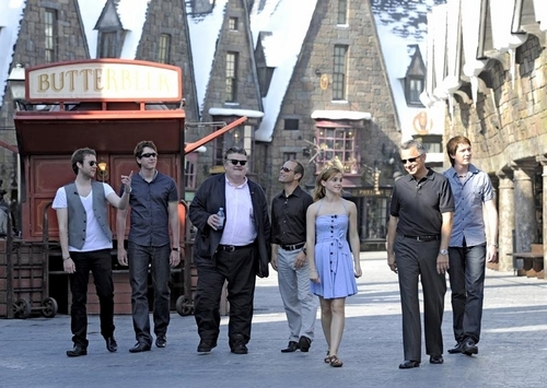 HP cast at The Wizarding World