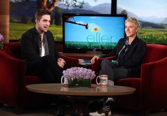 HQ Pictures Of Robert Pattinson On Ellen