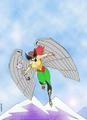 Hawkgirl - comic-books fan art