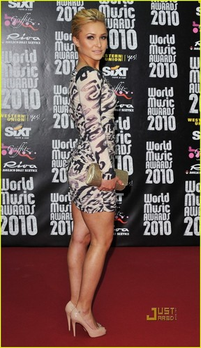Hayden Panettiere: World Music Awards Co-Host!