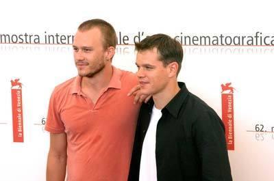 Heath & Matt Damon