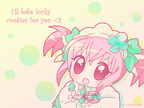 I Bake Lucky کوکیز for You!