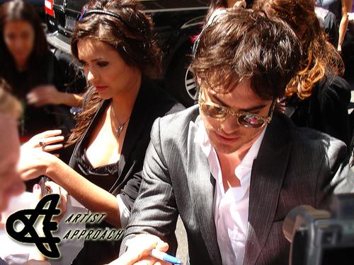 Ian & Nina CW Upfront - Arrivals