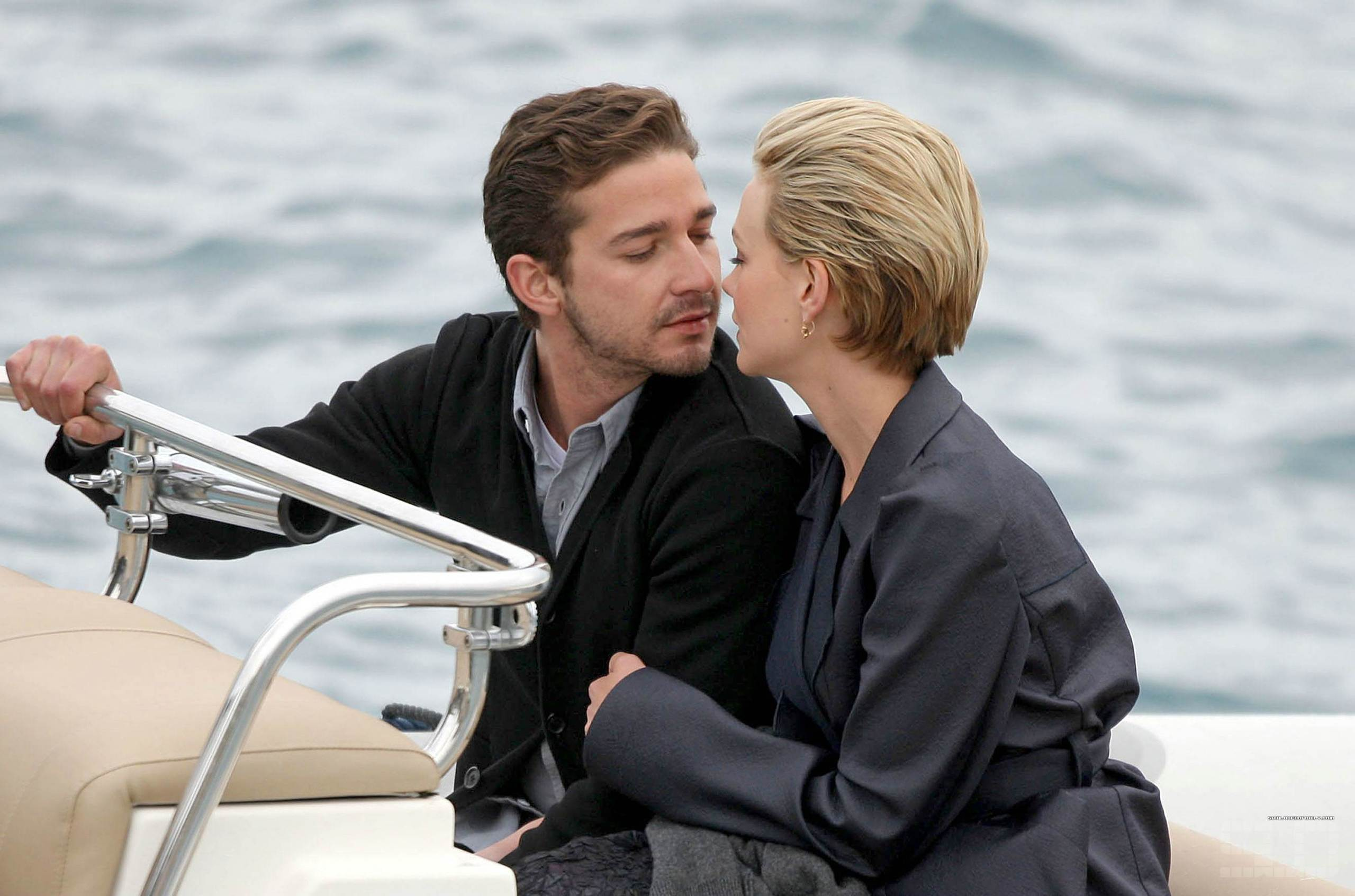 Shia Labeouf And Carey Mulligan Images In Venice May 14 HD Wallpaper Background Photos