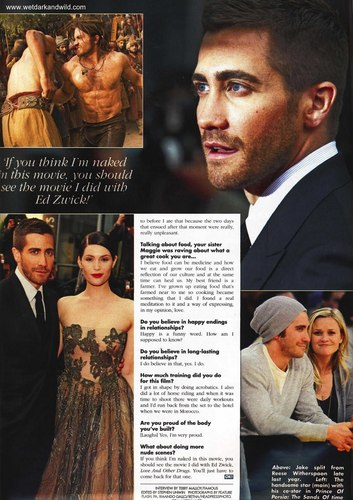 Jake in OK scans - jake-gyllenhaal Photo