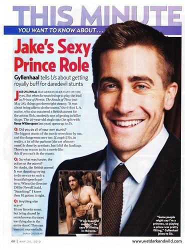 Jake in US Weekly scans