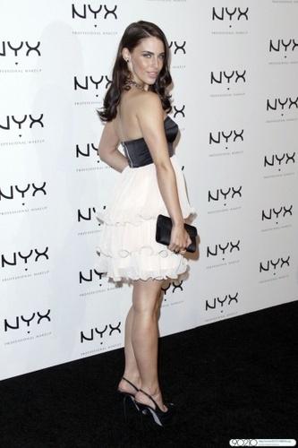 Jessica @ Nyx Professional Makeup Decade & 1 سال Anniversary Party