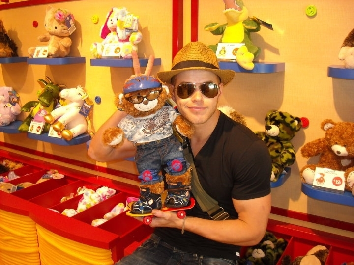 Kellan At Build-a-Bear - May 2010
