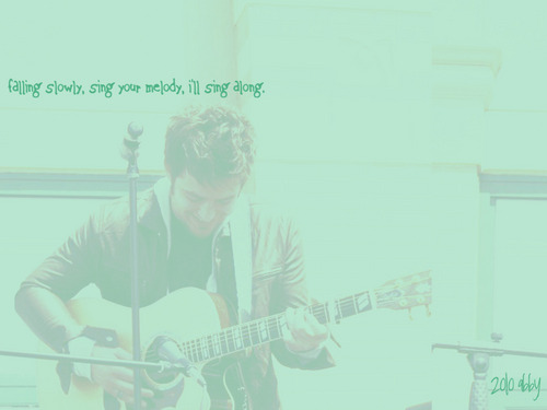 American Idol wallpaper titled Lee DeWyze--Falling Slowly