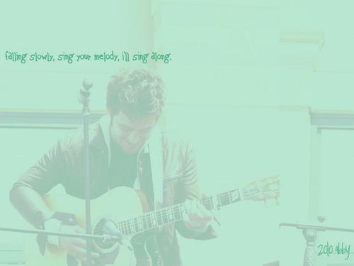 American Idol wallpaper called Lee DeWyze--Falling Slowly