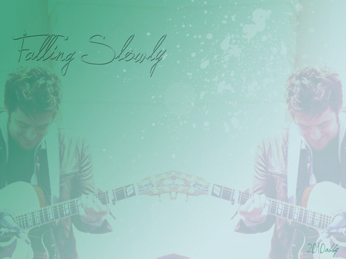 American Idol wallpaper entitled Lee DeWyze--Falling Slowly