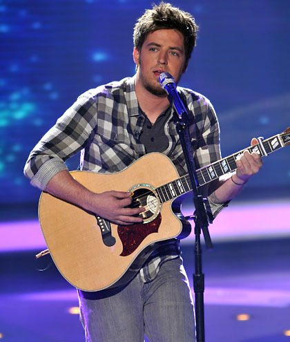 American Idol Hintergrund called Lee DeWyze