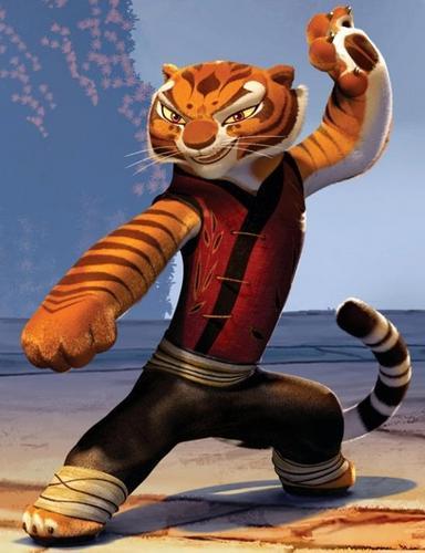 Master harimau betina, membukakan