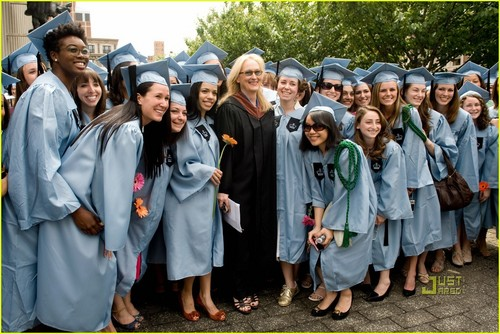Meryl Streep: Barnard College's Commencement Speaker!