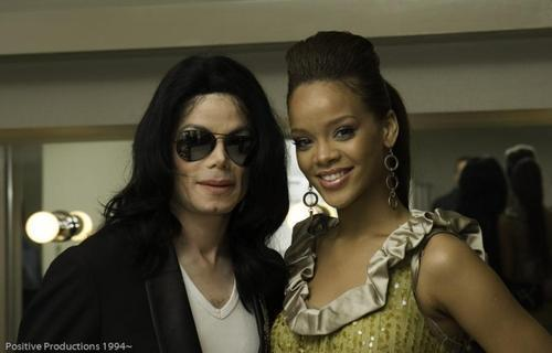 Michael and Rihanna