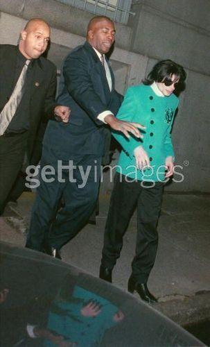 Michael at Thalia's wedding