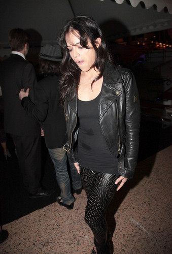 Michelle Rodriguez Leaving Pure One Yacht at 63rd Annual Cannes Film Festival (May 19,2010)