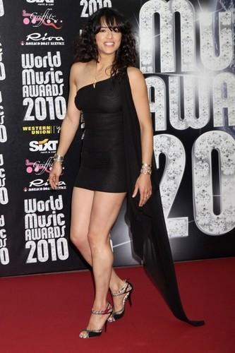 Michelle hosting World সঙ্গীত Awards in Monaco (May 18,2010)