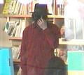 Mike @ a Book Store - michael-jackson photo