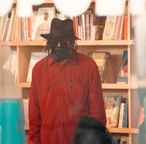 Mike @ a Book Store