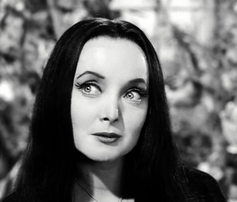 Addams Family wallpaper titled Morticia