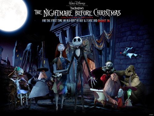 Nightmare Before Christmas wallpaper called NBC characters
