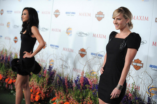 Naya & Heather @Maxim 11th Annual Party
