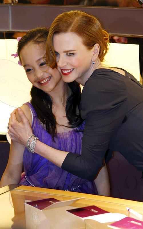 Nicole Kidman Launch of new Omega Boutique in Hong Kong