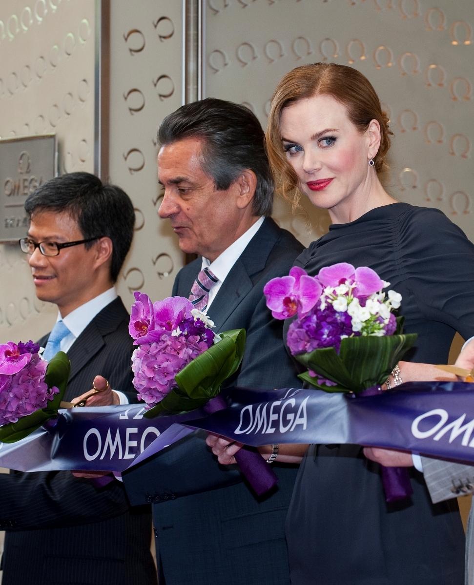 Nicole Kidman Launch of new Omega Boutique Hong Kong