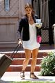 Nikki Reed Leaving for Airport with Lunch  - twilight-series photo